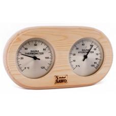 Термогигрометр SAWO 222 ТНP, сосна