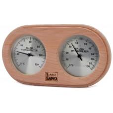 Термогигрометр SAWO 222 ТНD, кедр