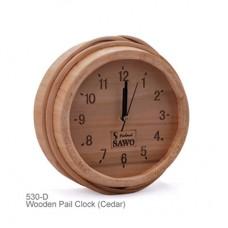 Часы SAWO 530 D, кедр