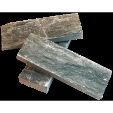 Плитка талькохлорит Рваный камень (5х15) м2