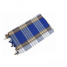 Пештамаль (полотенце) PL-001, цвет синий
