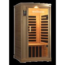 Инфракрасная кабина Wellness LH-901 BC  (1-но местная)-Кедр