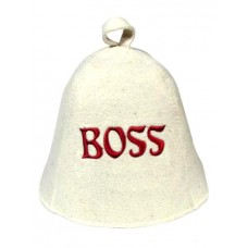 """Шапка банная """"BOSS"""""""