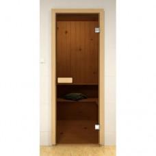 Дверь Эстония Aldo стекло бронза 2100х800