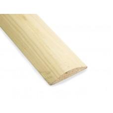 Раскладка полукруглая из липы 2,4 м